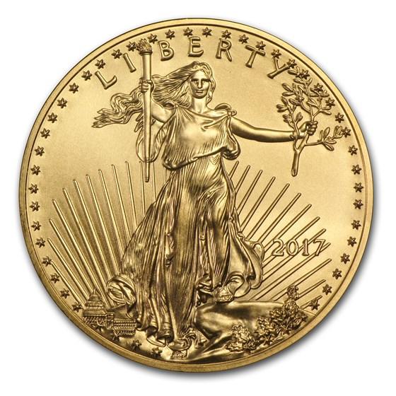 2017 1/4 oz American Gold Eagle BU