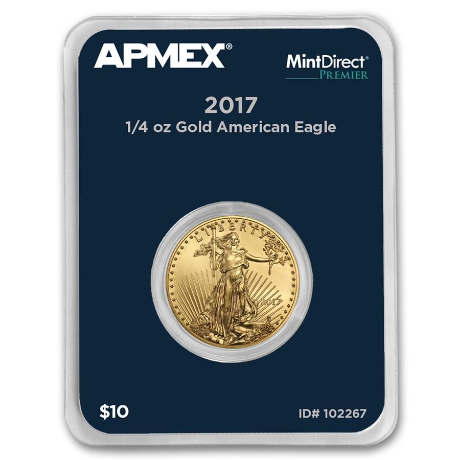 2017 1/4 oz American Gold Eagle (MintDirect® Premier Single)