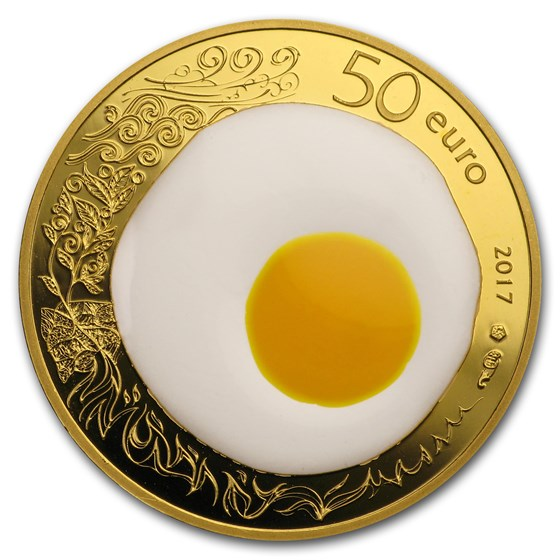 2017 1/4 oz Prf Gold €50 Excellence Series (Guy Savoy)