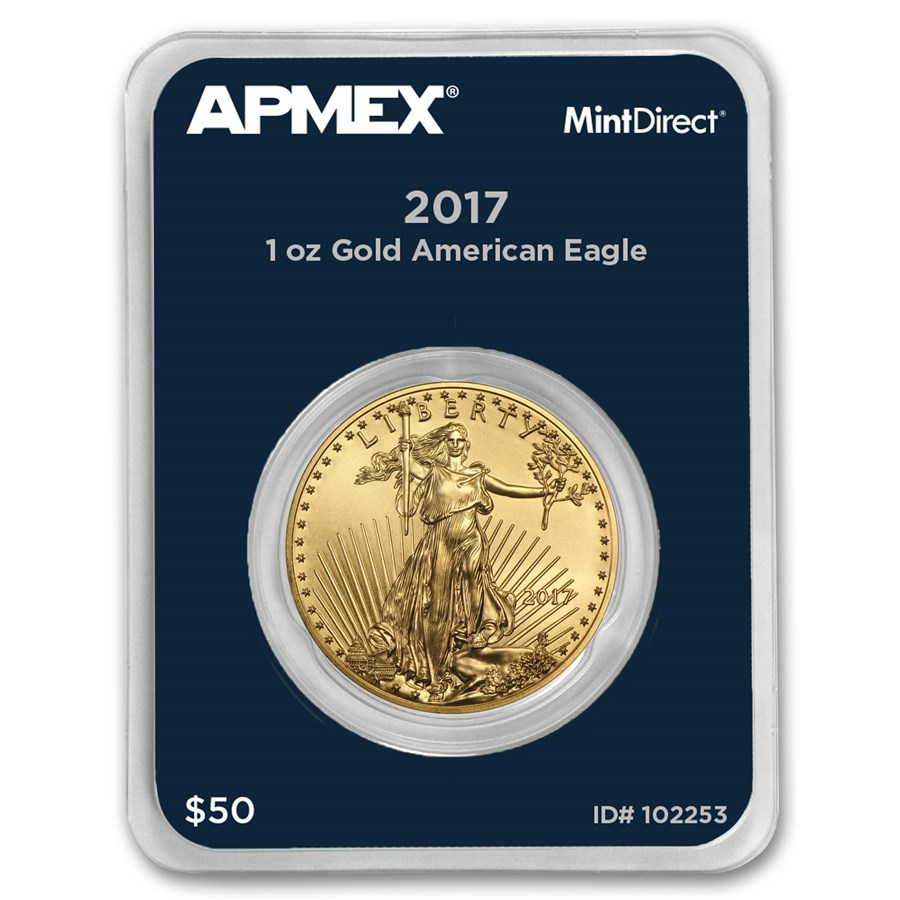 2017 1 oz American Gold Eagle (MintDirect® Single)