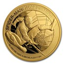 2017 1 oz Gold $200 Mercanti-Designed SPIDERMAN™ Gem Proof