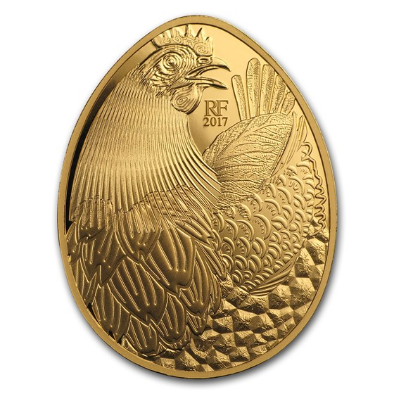 2017 1 oz Proof Gold €200 Excellence Series (Guy Savoy)