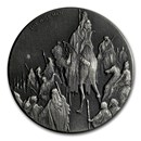 2017 2 oz Silver Coin - Biblical Series (The Wise Men)
