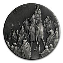 2017 2 oz Silver Coin - Biblical Series (The Wise Men)