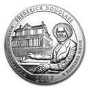 2017 5 oz Silver ATB Frederick Douglass National Site, DC