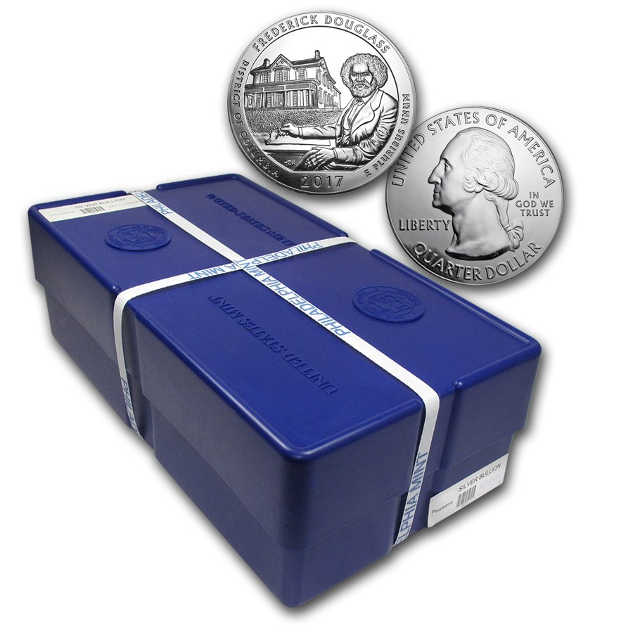 2017 5 oz Silver ATB Frederick Douglass Site (Sealed Monster Box)