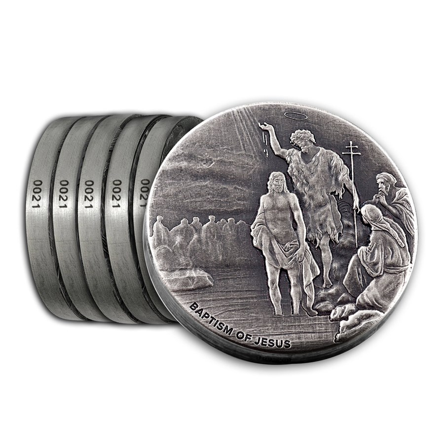 2017 6-Coin Silver Set - Biblical Series (Matching Serial #'s)
