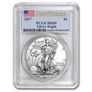 2017 American Silver Eagle MS-69 PCGS (FirstStrike®)