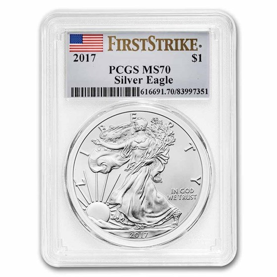 2017 American Silver Eagle MS-70 PCGS (FirstStrike®)