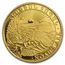 2017 Armenia 1 gram Gold 100 Dram Noah's Ark Proof