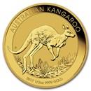 2017 Australia 1/2 oz Gold Kangaroo BU