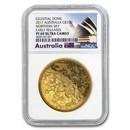 2017 Australia 1 oz $100 Gold Northern Sky Domed PF-69 NGC