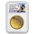 2017 Australia 1 oz $100 Gold Northern Sky Domed PF-70 NGC