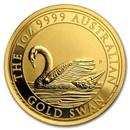 2017 Australia 1 oz Gold Swan BU
