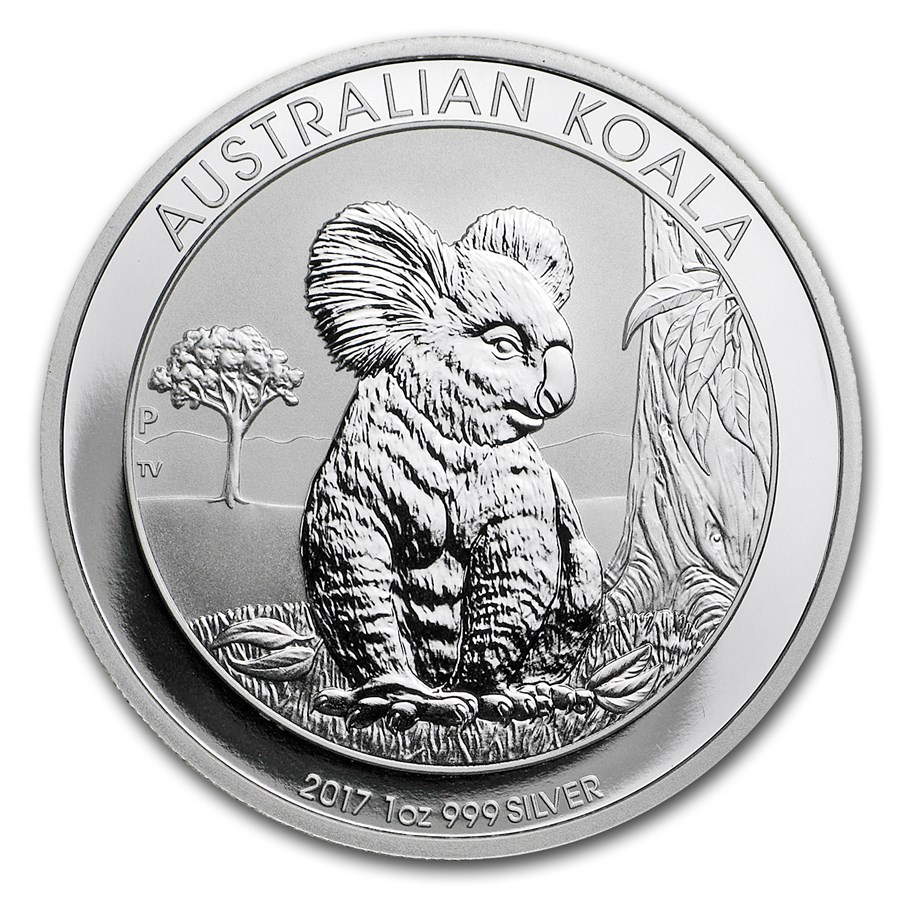 2017 Australia 1 oz Silver Koala BU