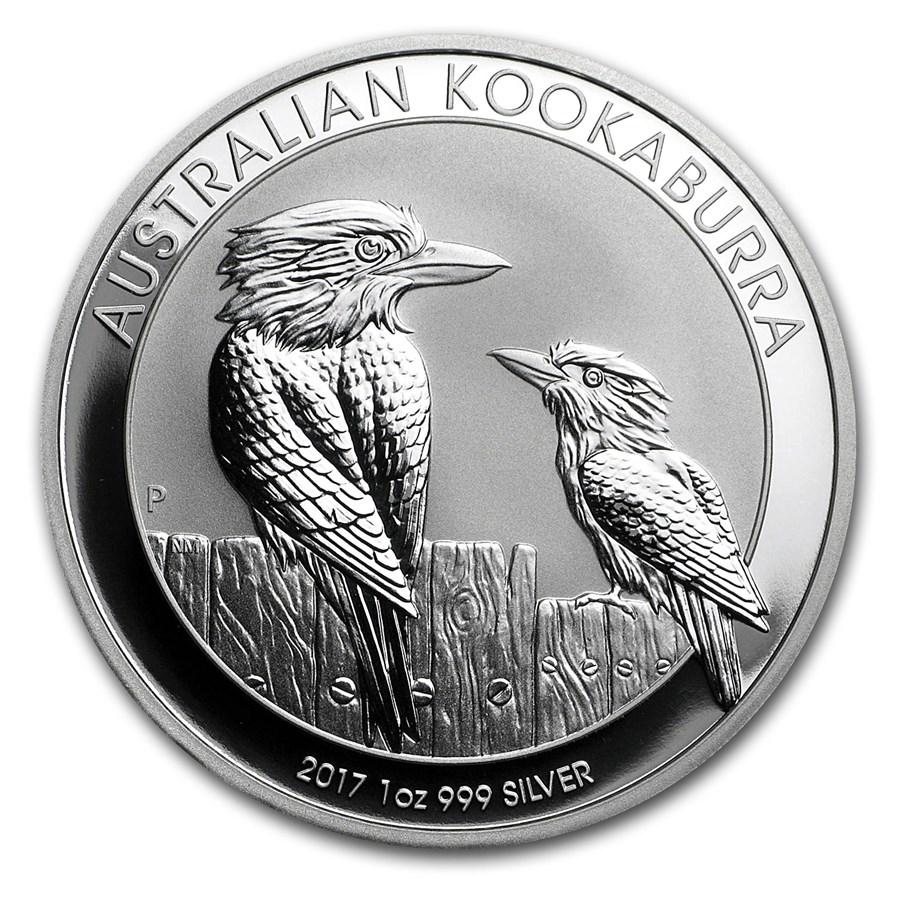 2017 Australia 1 oz Silver Kookaburra BU