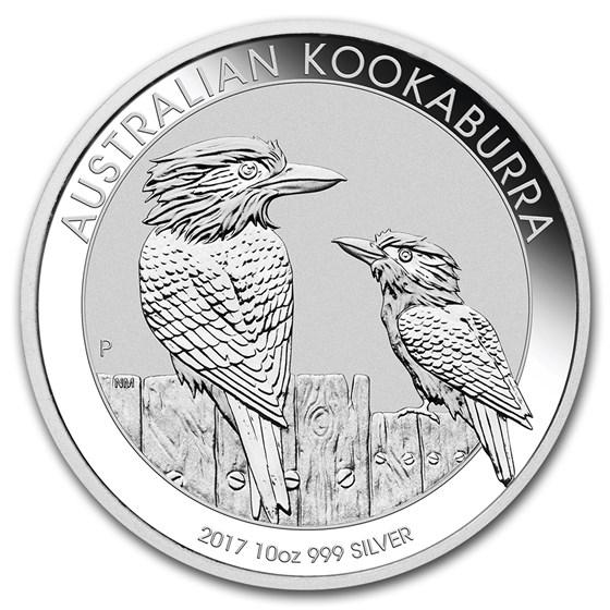 2017 Australia 10 oz Silver Kookaburra BU