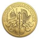 2017 Austria 1/2 oz Gold Philharmonic BU