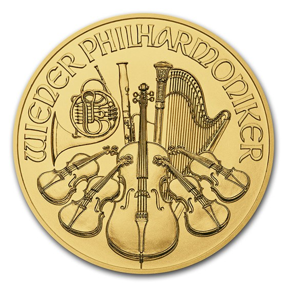 2017 Austria 1 oz Gold Philharmonic BU