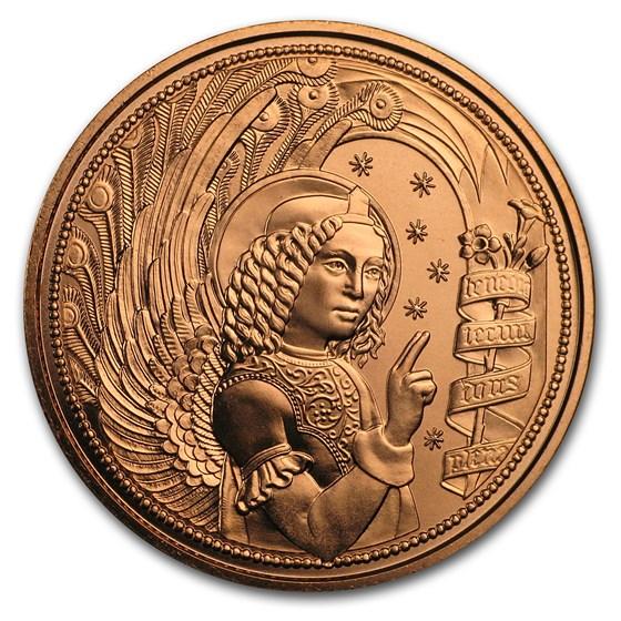 2017 Austria Copper €10 Guardian Angels (Gabriel)