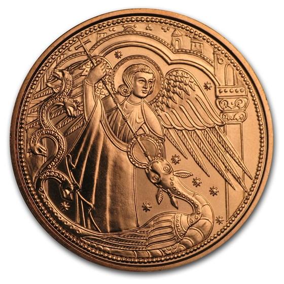 2017 Austria Copper €10 Guardian Angels (Michael)