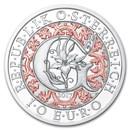 2017 Austria Proof Silver €10 Guardian Angels (Gabriel)