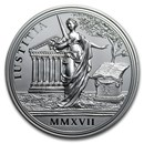 2017 Austria Silver €20 Maria Theresa (Justice and Character)
