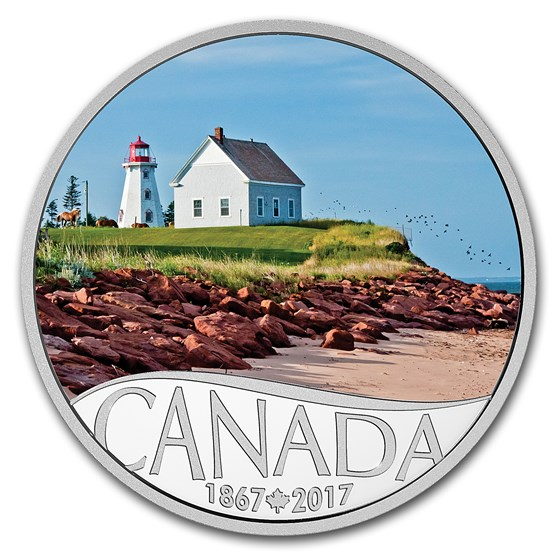 2017 Canada 1/2 oz $10 Celebrating Canada's 150th: Panmure Island