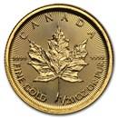 2017 Canada 1/20 oz Gold Maple Leaf BU