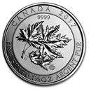 2017 Canada 1.5 oz Silver $8 SuperLeaf BU