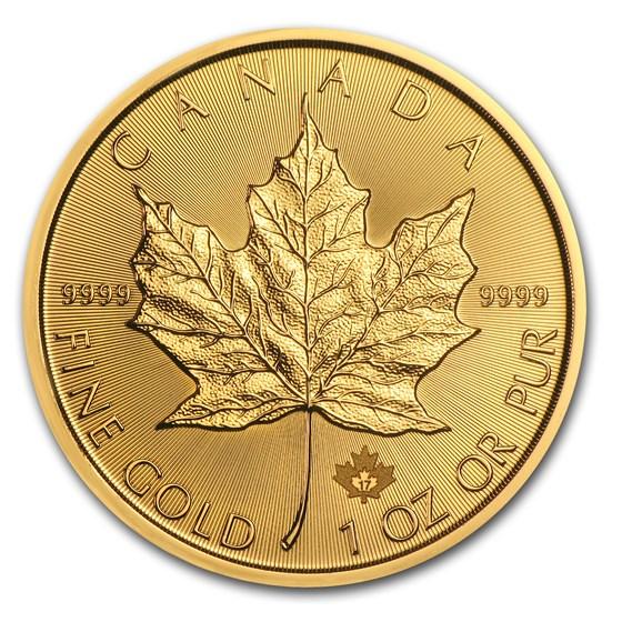 2017 Canada 1 oz Gold Maple Leaf BU