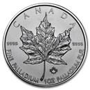 2017 Canada 1 oz Palladium Maple Leaf BU
