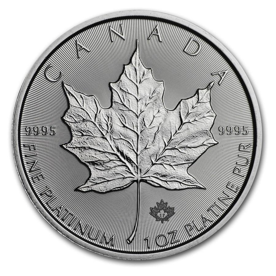 2017 Canada 1 oz Platinum Maple Leaf BU