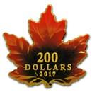 2017 Canada 1 oz Proof Gold $200 Autumn Fire