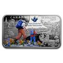 2017 Canada 1 oz Silver $25 The Great Trail
