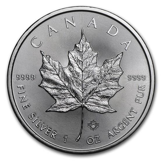 2017 Canada 1 oz Silver Maple Leaf BU