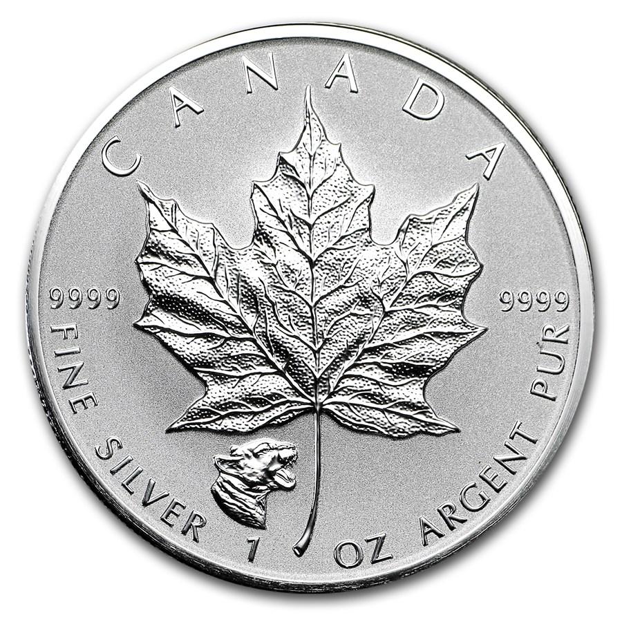 2017 Canada 1 oz Silver Maple Leaf Cougar Privy Reverse Proof