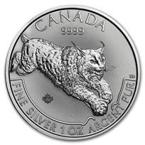 2017 Canada 1 oz Silver Predator Series Lynx