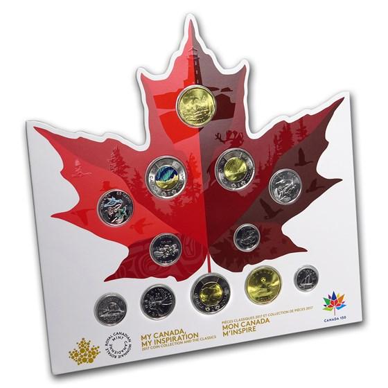 2017 Canada 12-Coin Canada 150 Circulation Collection