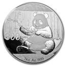 2017 China 1 kilo Silver Panda Proof (w/Box & COA)