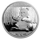 2017 China 30 gram Silver Panda BU (In Capsule)