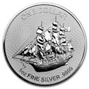 2017 Cook Islands 1 oz Silver Bounty Coin (Version 2)