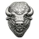 2017 Cook Islands 2 oz Silver Antique Finish American Buffalo