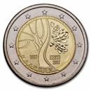2017 Estonia 2 Euro Road to Independence BU