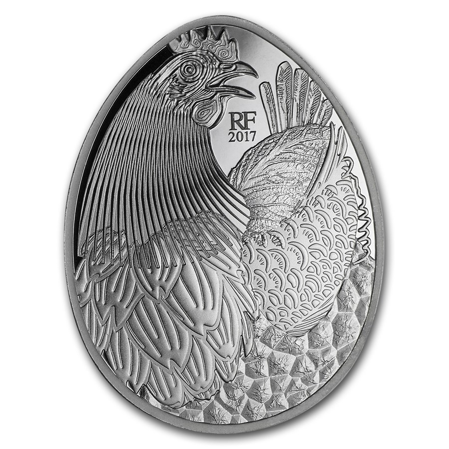 2017 France €10 Silver Excellence Series Proof (Guy Savoy)