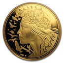 2017 France Gold €250 Marianne (Face Value Coin)
