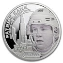2017 Grandeur 1 oz Silver Hockey: Kane (High Relief)