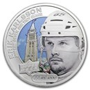 2017 Grandeur 1 oz Silver Hockey: Karlsson (Colorized)
