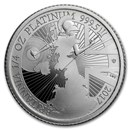 2017 Great Britain 1/4 oz Proof Platinum Britannia