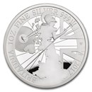 2017 Great Britain 1 oz Proof Silver Britannia (w/ Box)